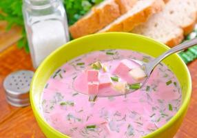cold soup photo