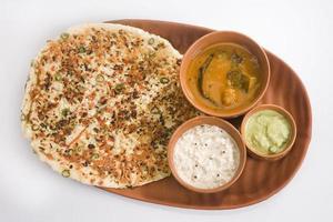 South Indian Dish Uthappam photo