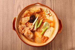 Kimchi hot pot photo