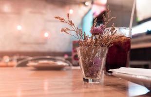 Restaurant Flower Background