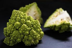 market fresh romanesco cauliflower photo
