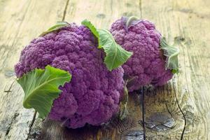 purple cauliflower photo
