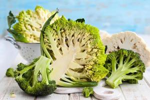 Various types of cabbage photo