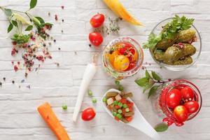 ingemaakte groenten