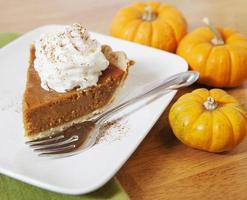 Pumpkin Pie Slice photo