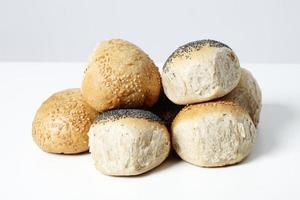 rollos de pan foto
