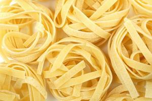 tagliatelle nest pasta achtergrond