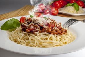 espagueti a la boloñesa
