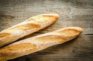 Two baguettes photo