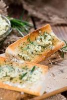 Baguette (with Herb Butter and Garlic)