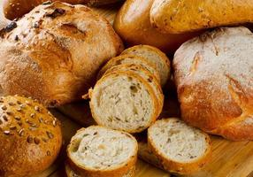 Assortment of  bread photo