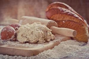 harina y pan