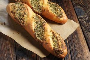 Two small baguettes photo
