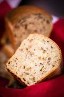 bread with seeds photo