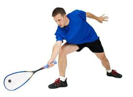 Squash player photo
