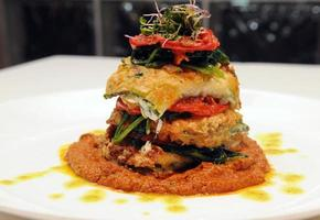 Squash Lasagna Presented