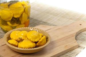 Pickled Pattypan Squash photo