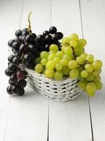 Grapes in baske