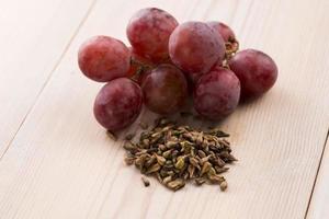 aceite de semilla de uva foto