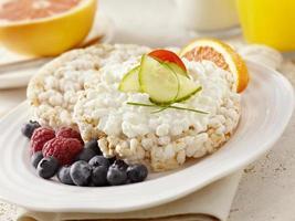 desayuno saludable foto