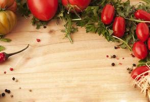 verduras de fondo. foto