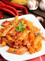 arrabiata pasta photo