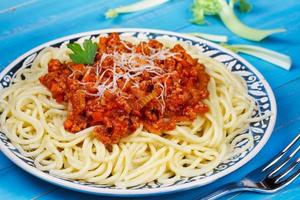 Spaghetti with Bolognese Sauce photo