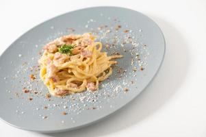 salsa blanca de pasta