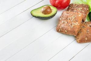 fondo de alimentos naturales