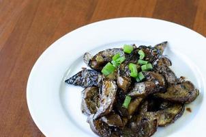 Stir-Fried Asian Eggplant