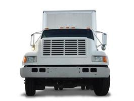 Clipped Box Truck Front