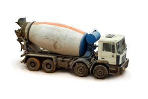 Concrete Mixer Truck.