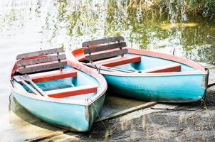 viejo bote de remos