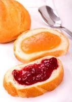 Toasts  with jam photo