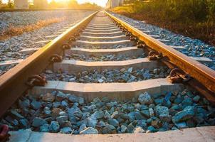 railroad. photo