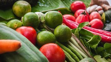 frutas y vegetales frescos