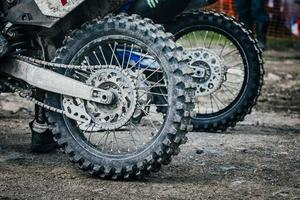 roda de bicicleta de enduro
