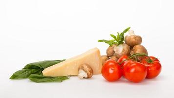 verduras y queso