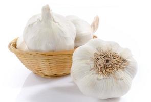 Fresh garlic photo