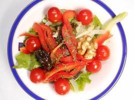 Vegetable salad photo