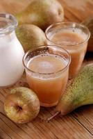 pear smoothie with cinnamon