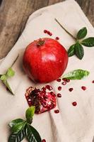 Delicious pomegranate