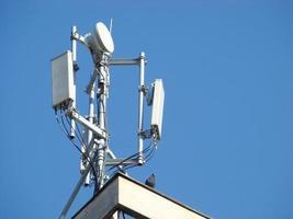 antena de telecomunicaciones foto