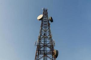 torre de telecomunicaciones foto