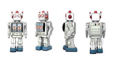 juguete robot foto