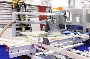 Industrial circular saw photo