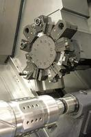 Lathe, CNC milling photo