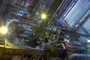 fábrica de químicos foto