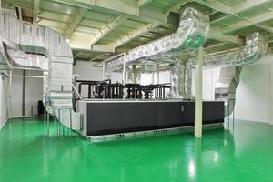 espacio industrial foto