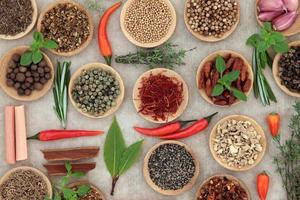 Herb and Spice Selection
